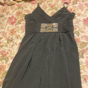 Minuet dress blue with sequins in size 4